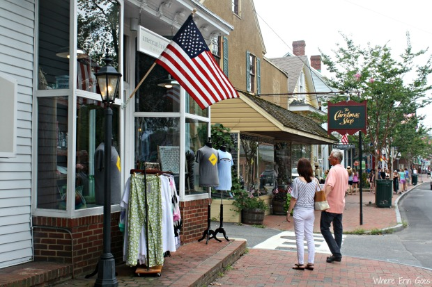 American Holiday is one of my favorite boutique shops in downtown St. Michaels. (Photo by Erin Klema)