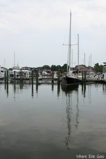 Sailboats in St. Michaels (Photo by Erin Klema)