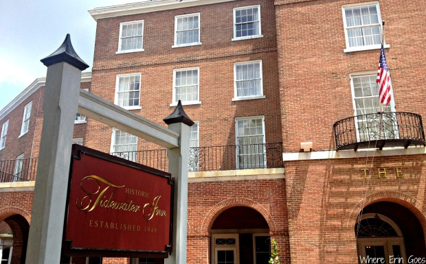 The historic Tidewater Inn (Photo by Erin Klema)