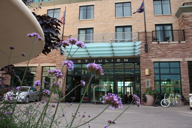 St. Julien Hotel and Spa is a luxury hotel in downtown Boulder. (Photo by Erin Klema)