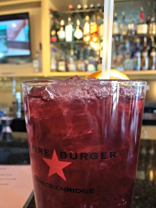 Sangria at Empire Burger. So refreshing! (Photo by Erin Klema)