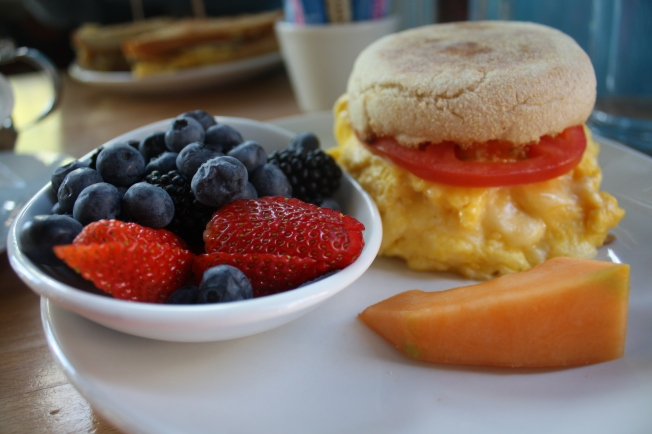 At Park & Main, in downtown Breckenridge, you can build your own breakfast sandwich. (Photo by Erin Klema)