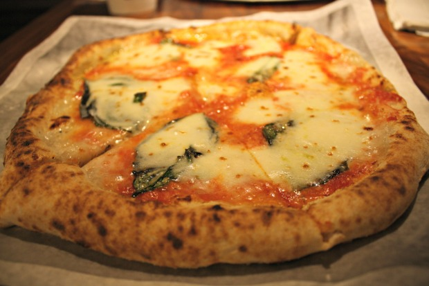 Pizzeria Locale's Margherita pizza proves simple can be delicious. (Photo by Erin Klema)