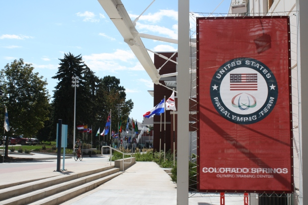 The U.S. Olympic Training Center is open for guided public tours. (Photo by Erin Klema)